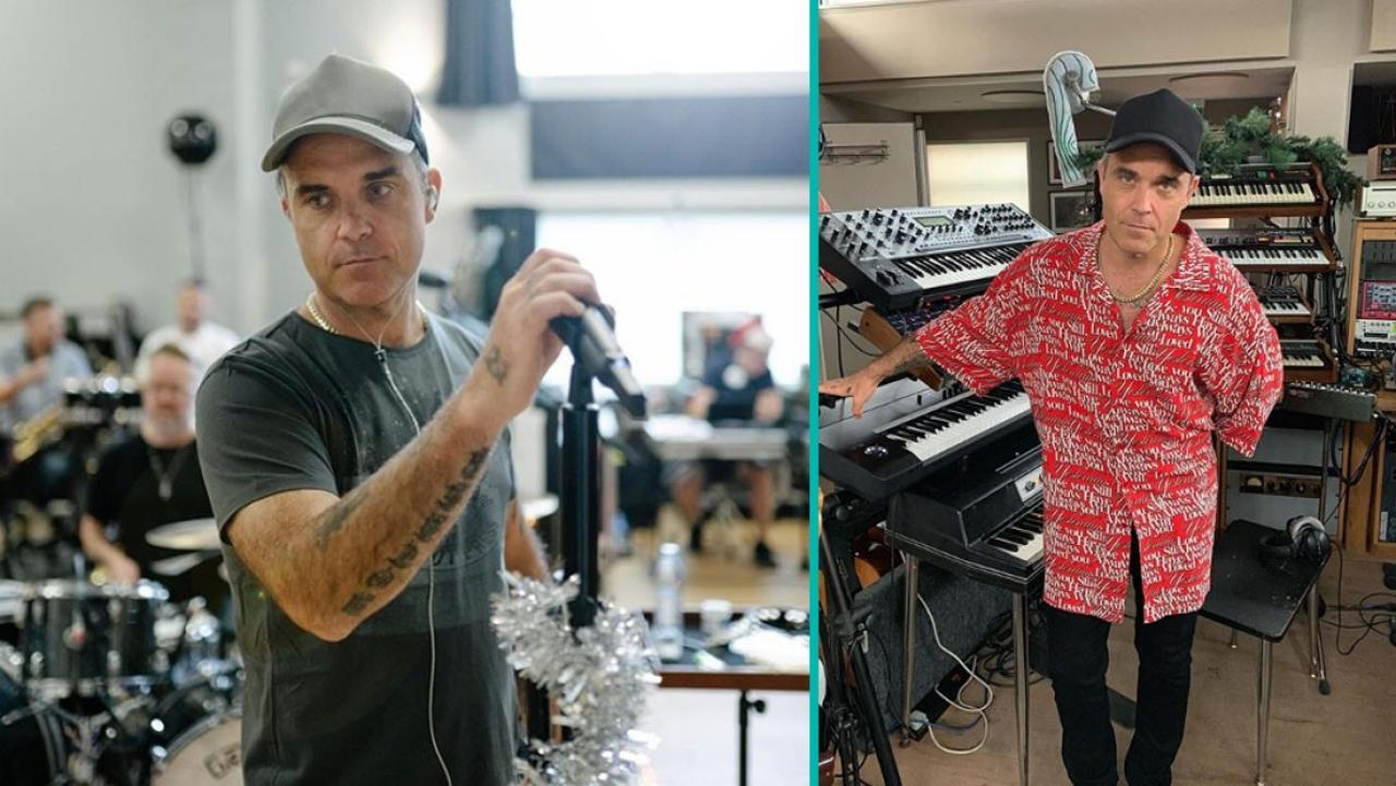 Robbie Williams announces he is releasing a double Christmas album later this year