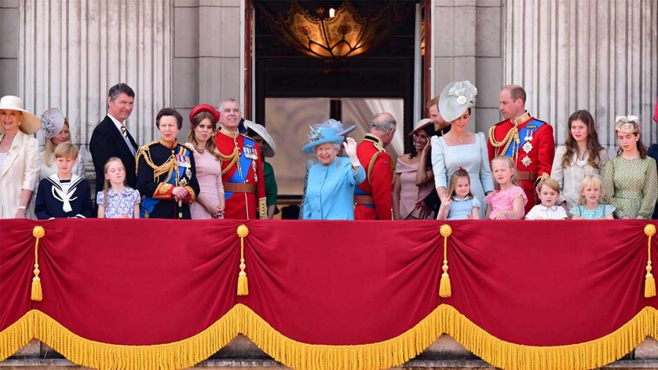 What the Royals wore to the Trooping Colour Parade