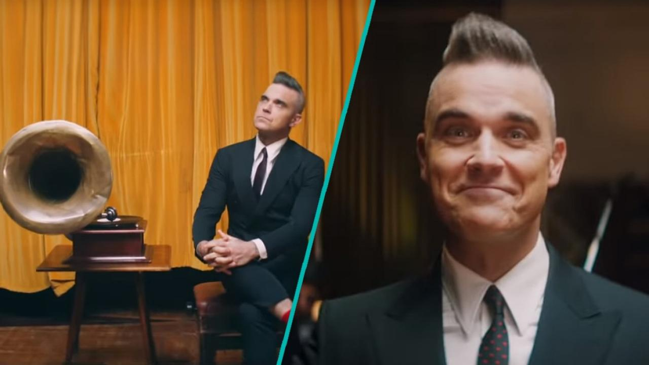 Robbie Williams releases his first Christmas song from his upcoming Christmas album