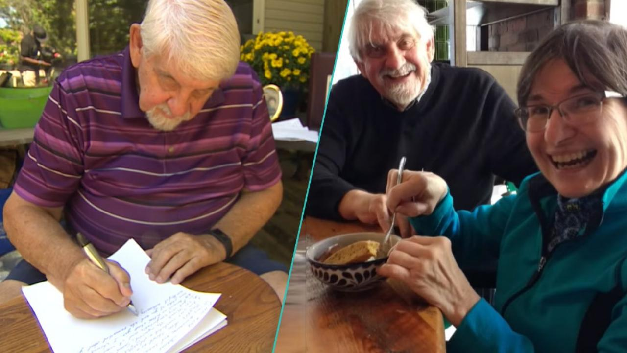 Husband writes wife 190 letters in 190 days while